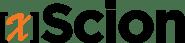 xScion Logo-black-orangeX-60px-1